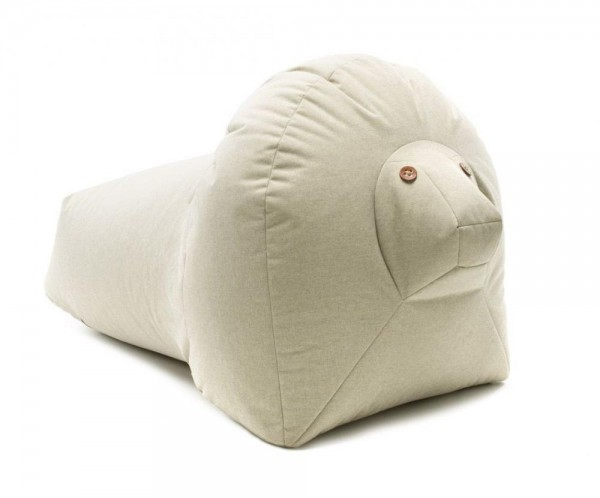 Sitzsack Loewe 100x60x60 cm beige 183070
