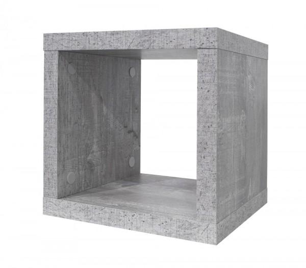 Wandregal beton B H T 26x26x22 cm Mix 2 0525 00