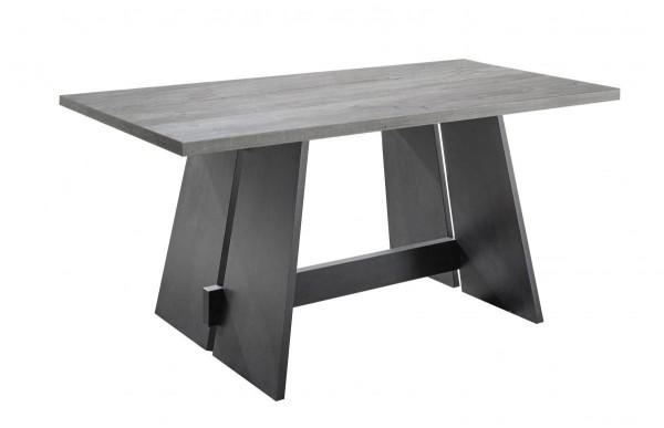 Esstisch schwarz beton 180x76x90 cm Mister 2SW 180 EAN4044393263594