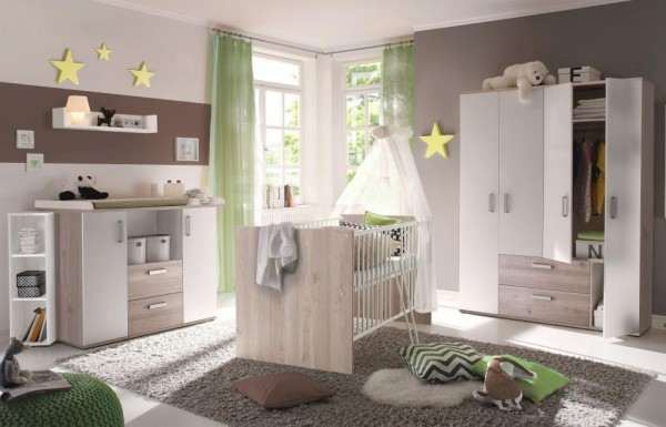 Babyzimmerset Sydney 6tlg. nelson eiche EAN 4260498524235