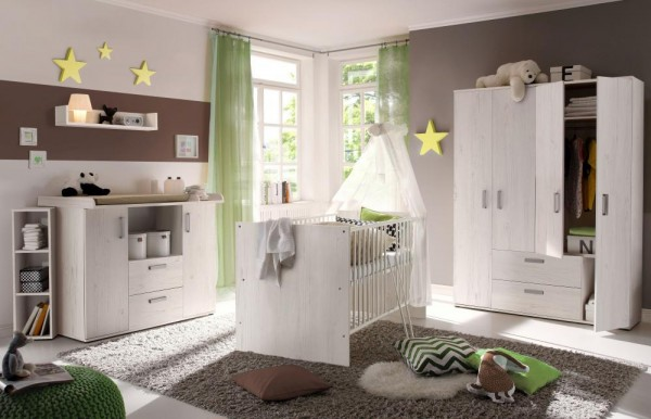 Babyzimmerset Sydney 6tlg. andersonpine EAN 4260498522699