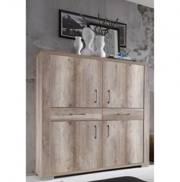 Matti Highboard 0605/42 wildeiche trüffel