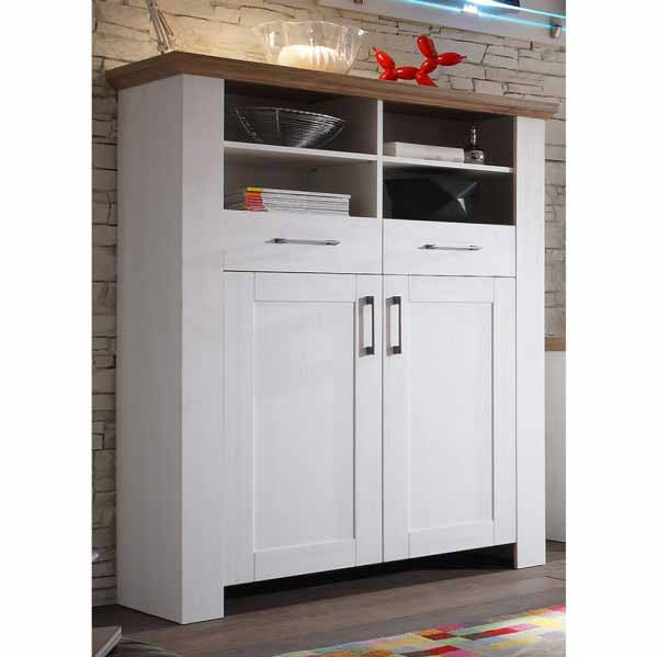 Country Highboard 06474/22 anderson pine/stirling oak