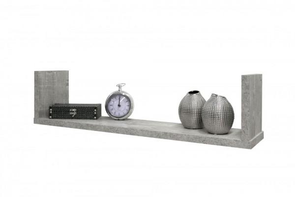 Wandregal beton B H T 90x23x19 cm Mix 4 0523 00