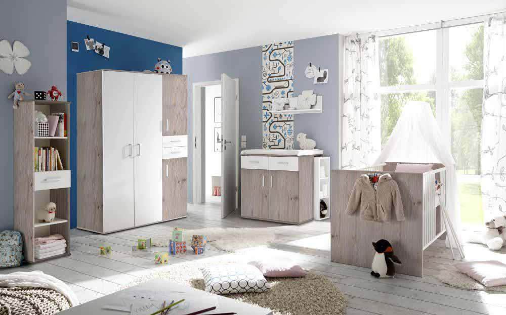 babyzimmer isabel 2 nelsoneiche 8 tlg. Black Bedroom Furniture Sets. Home Design Ideas