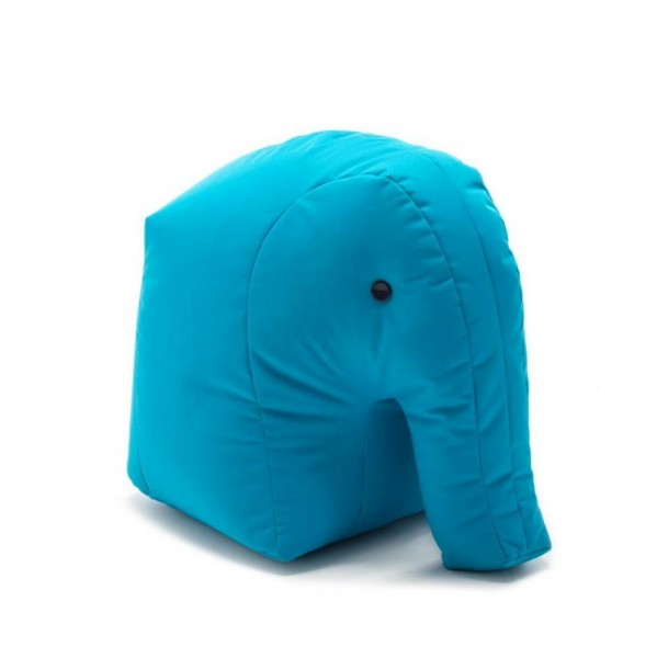 Sitzsack Elefant 71x47x53 cm hellblau 190168